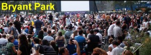 Bryant Park Summer Movies