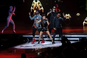 Black Eyed Peas Central Park Concert on 9/30