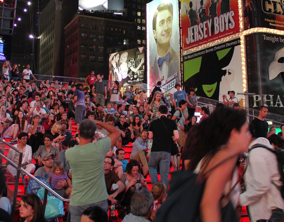 Free Times Square WiFi