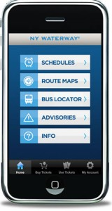 NY Waterway App