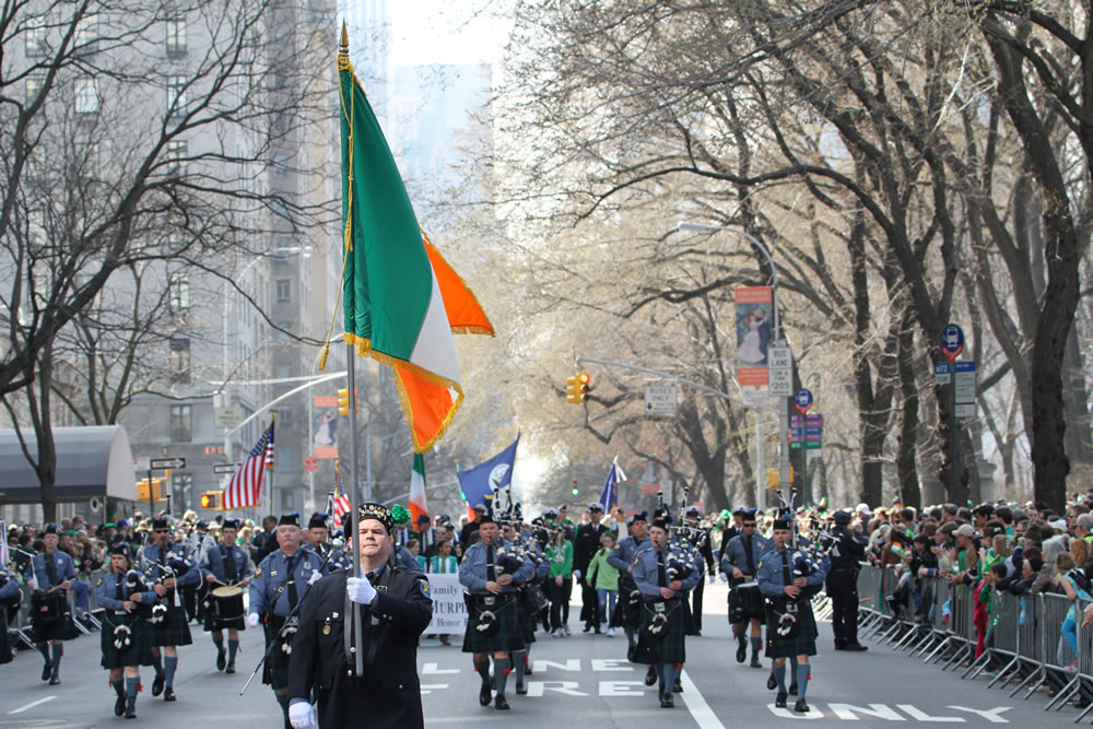 Irish Parade in NYC