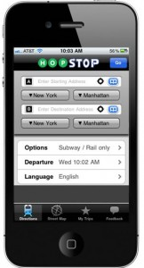 hopstop app screenshot