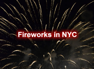 New York City Fireworks 2012 Schedule