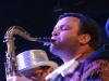 Stuart Bogie on tenor sax