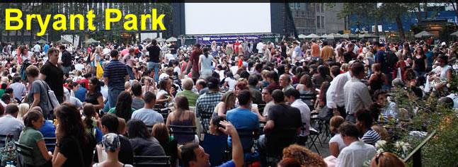 Bryant Park Summer Movies