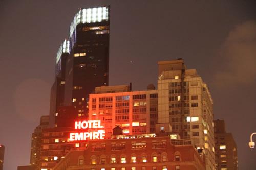 NYC hotel week