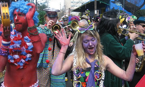 Mardi Gras in NYC